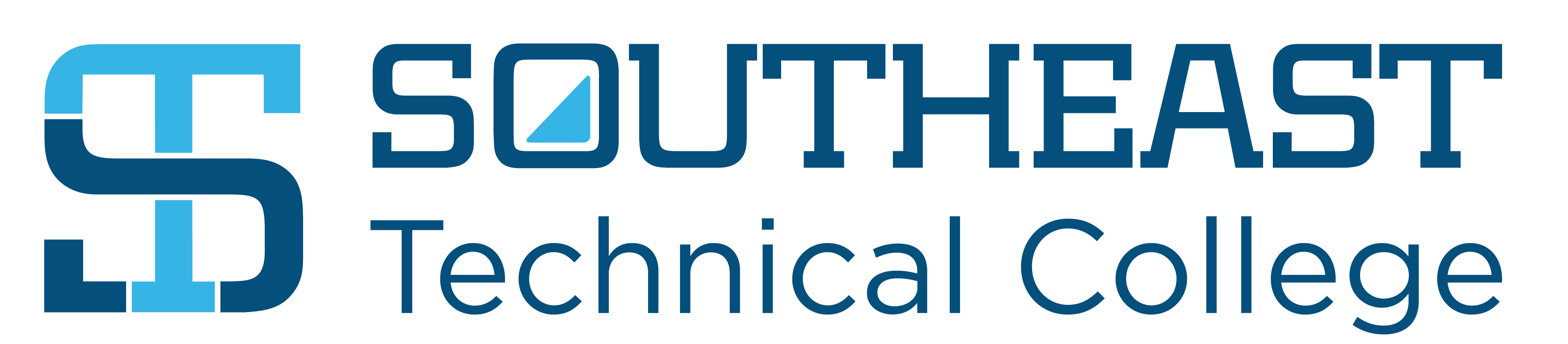 Southeast Technical College logo and monogram