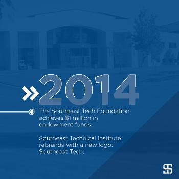 The Southeast Tech Foundation achieves $1 million in endowment funds.